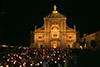 Porziuncola, Assisi, 2017.08.01. Processione Aux flambeaux