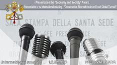 """Economy and Society"" Award & ""Constructive Alternatives in an Era of Global Turmoil"""